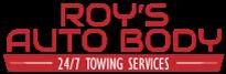 Roy's Autobody Logo
